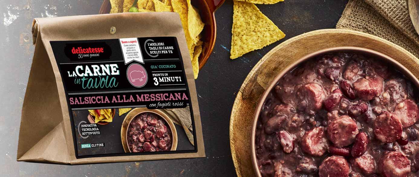 Salsiccia alla messicana   La Carne in Tavola