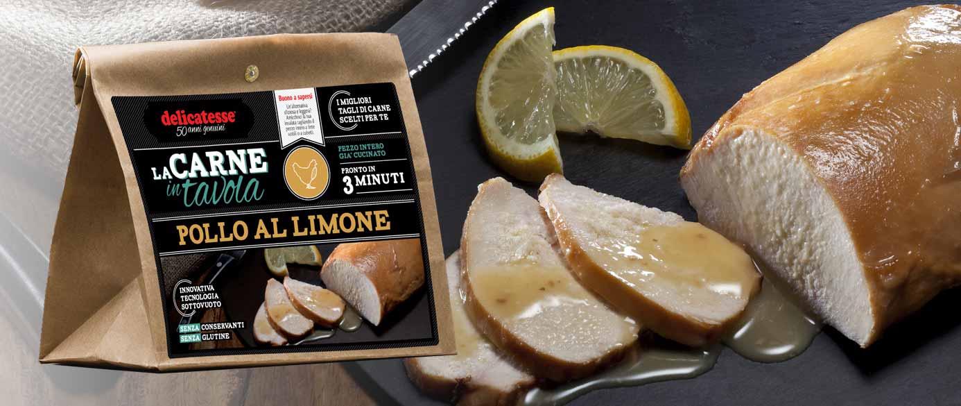 Pollo al limone | La Carne in Tavola